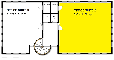 Office Suite 2 - First Floor Back