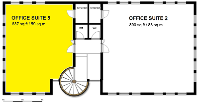Office Suite 5 - First Floor Front